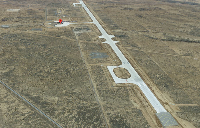 Aerial View Runway 34/16 (Imagery ©2021 Google, Imagery ©2021 CNES / AIrbus, Maxar Technologies, NMRGIS, USDA Farm Service Agency, Map data ©2021)