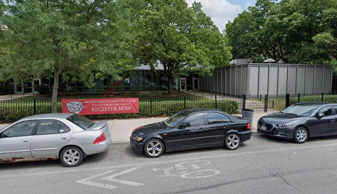 Brennemann Elementary School on Clarendon Avenue (Image capture July 2019 ©2021 Google)