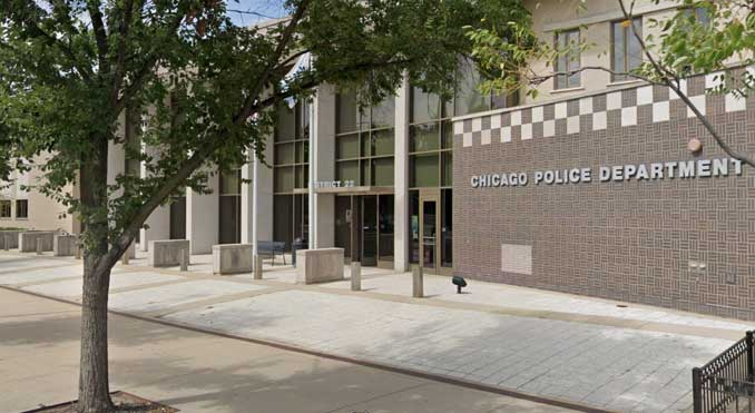 Chicago Police Department District 22 police station on Monterey Avenue (Image captured August 2019)
