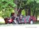 Fatal crash following extrication of the one crash victim that was killed in a red Toyota Camry (PHOTO CREDIT: Max Weingardt)