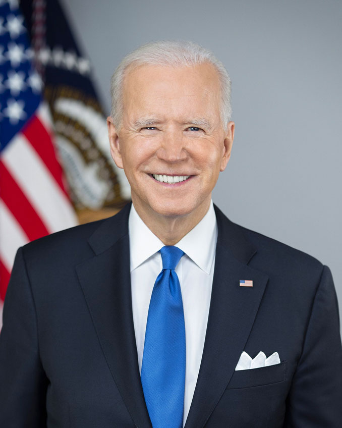 Joe Biden Official Portrait 2021