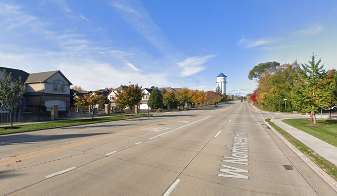 Northwest Highway and Maple Avenue Palatine