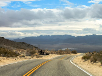 Road trip with mountains on the horizon (SOURCE: Egor Shitikov from Pixabay).