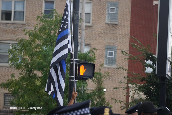 CPD Officer Ella French funeral Thursday, August 20, 2021 (PHOTO CREDIT: Jimmy Bolf)