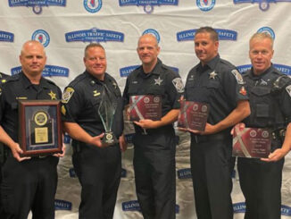 Arlington Heights Police Department Chief and Traffic Enforcers (SOURCE: IACP)
