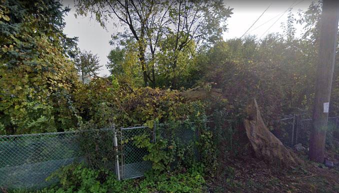 Backyard at 3950 Center Avenue in Lyons (Image capture October 2019 ©2021 Google)