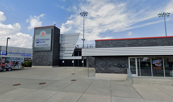Chicago Bandits and Parkway Bank Sports Complex in Rosemont, Illinois (SOURCE: Google Street view image captured October 2018 ©2021)