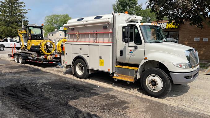 Gas leak Arlington Heights Road between Sigwalt Street and Park Street Arlington Heights