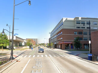 Green Street and 2nd Street Champaign Street View (Image Capture July 2019 ©2021)