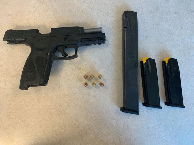 Gun, high-capacity magazine, and ammunition (SOURCE: Lake County Sheriff's Office)