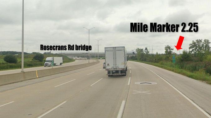 I-94 Stabbing Scene Street View (Image capture September 2019 ©2021 Google)