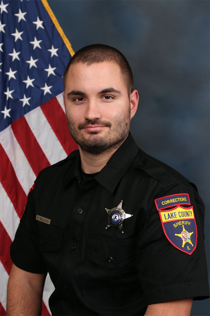 Lake County Sheriff's Office Correctional Officer Matthew Bellavia (SOURCE: Lake County Sheriff's Office)