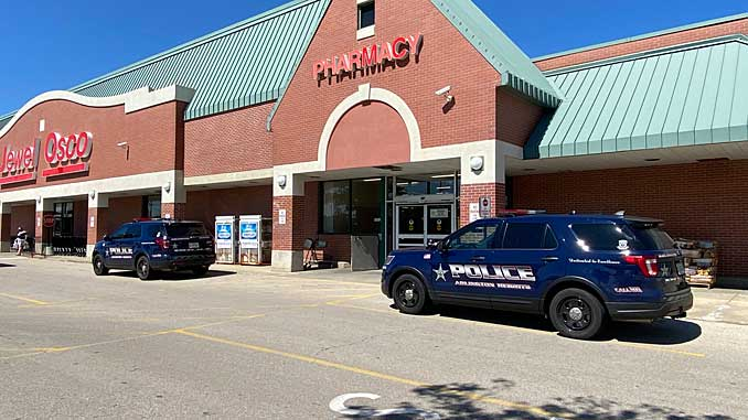 Police respond to a disturbance at Jewel-Osco and issued a No Trespassing Order to a male adult and female adult Sunday, August 15, 2021