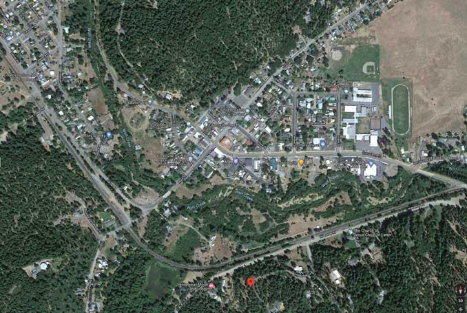 Satellite View Greenville Aug 5, 2021