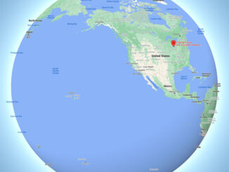 2200 West Euclid on Globe (Map data ©2021 Google, INEGI, SK telecom).