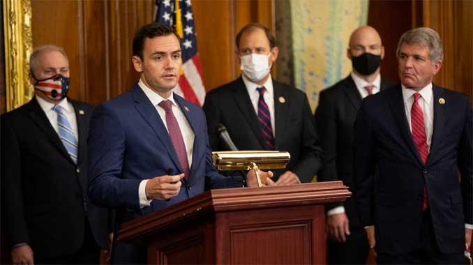 Congressman Mike Gallagher (R-WI) releases a statement calling for Dr. Anthony Fauci to resign