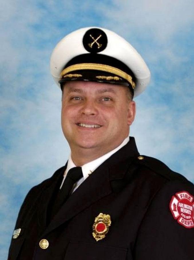 Interim Fire Chief David Schultz (SOURCE: Arlington Heights Fire Department when Schultz served as EMS Division Commander)