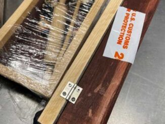 Fentanyl enclosed in wooden items shipped to Houston, Texas from Michoacán, Mexico