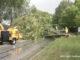 Storm damage on Deerpath Drive in Vernon Hills