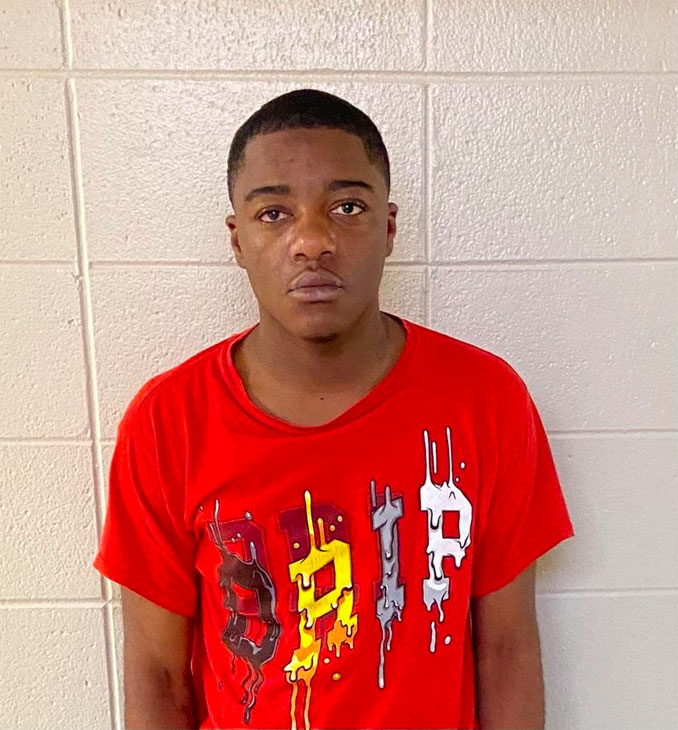 Kevonta Robinson, held on multiple charges (DuPage County Sheriff's Office)