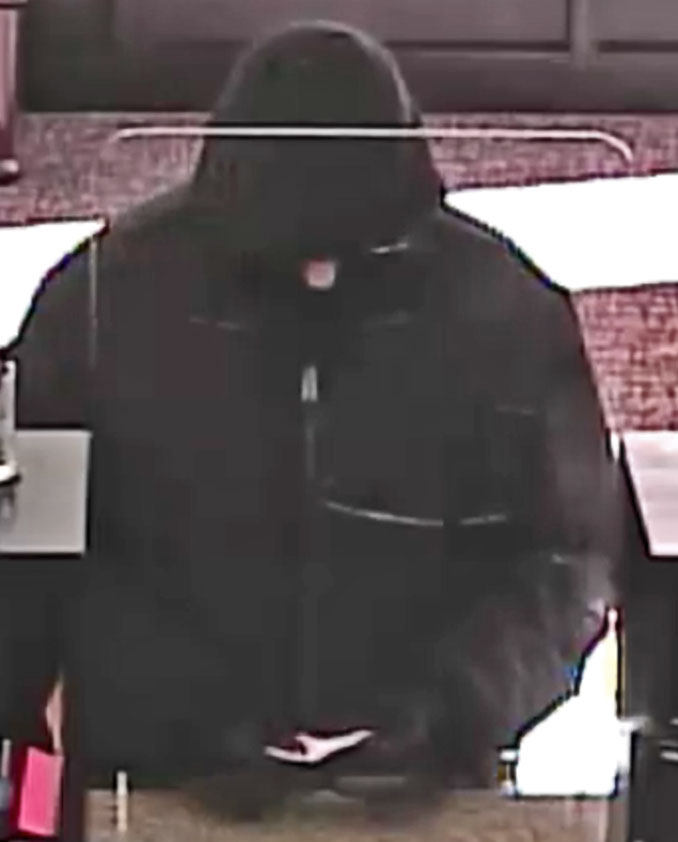 Bank robbery suspect  at Old Second National Bank on Ogden Avenue in Lisle (SOURCE: FBI)