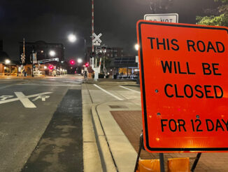Dunton Avenue closing at Union Pacific/Metra railroad crossing beginning Monday, October 18, 202