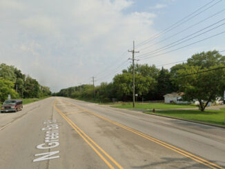 Green Bay Road north of Wadsworth Road in Beach Park (Google Maps Street View captured September 2019 ©2021)