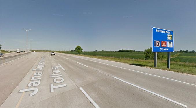 I-90 WEST near MP 26.75 (Google Street View: Image capture July 2018 ©2021)