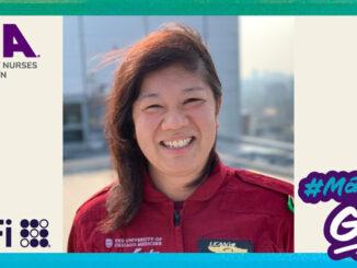 University of Chicago Flight Nurse Jannie White, CFRN (SOURCE: Emergency Nurses Association)