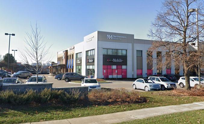 T-Mobile store, 850 North Milwaukee Avenue Vernon Hills (Image capture November 2018 ©2018 Google)
